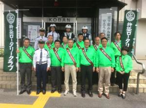 春の交通安全街頭活動報告(杵築RC)