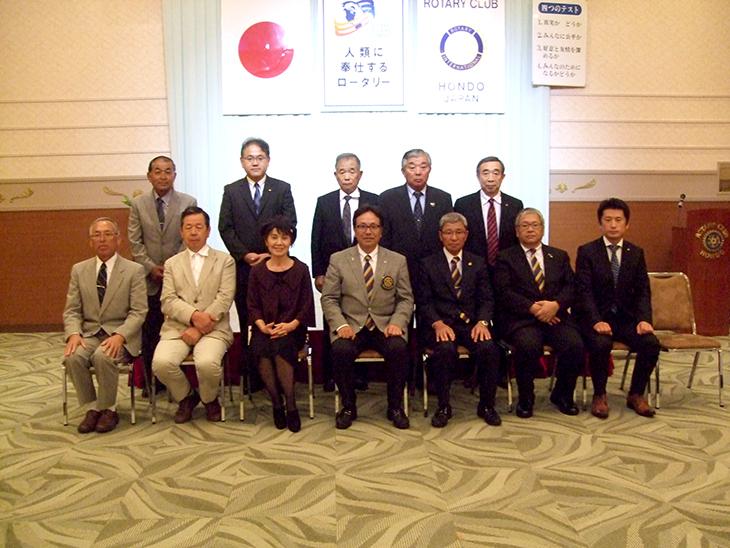 熊本第7グループ ガバナー公式訪問を終えて(天草パールライン)