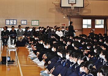第4回 未来を担う日出子供の善行・功労表彰(日出RC)